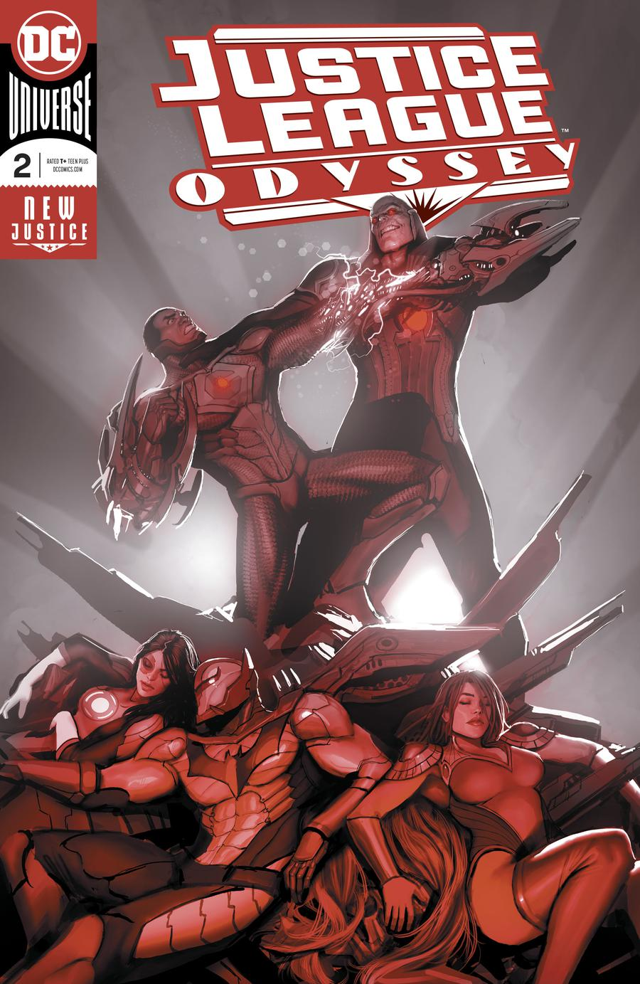Justice League Odyssey #2 Cover A Regular Stjepan Sejic Enhanced Foil Cover