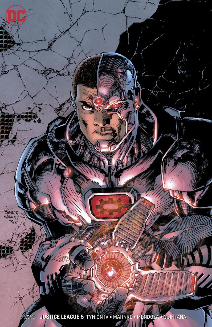 Justice League Vol 4 #5 Cover B Variant Jim Lee & Scott Williams Cover