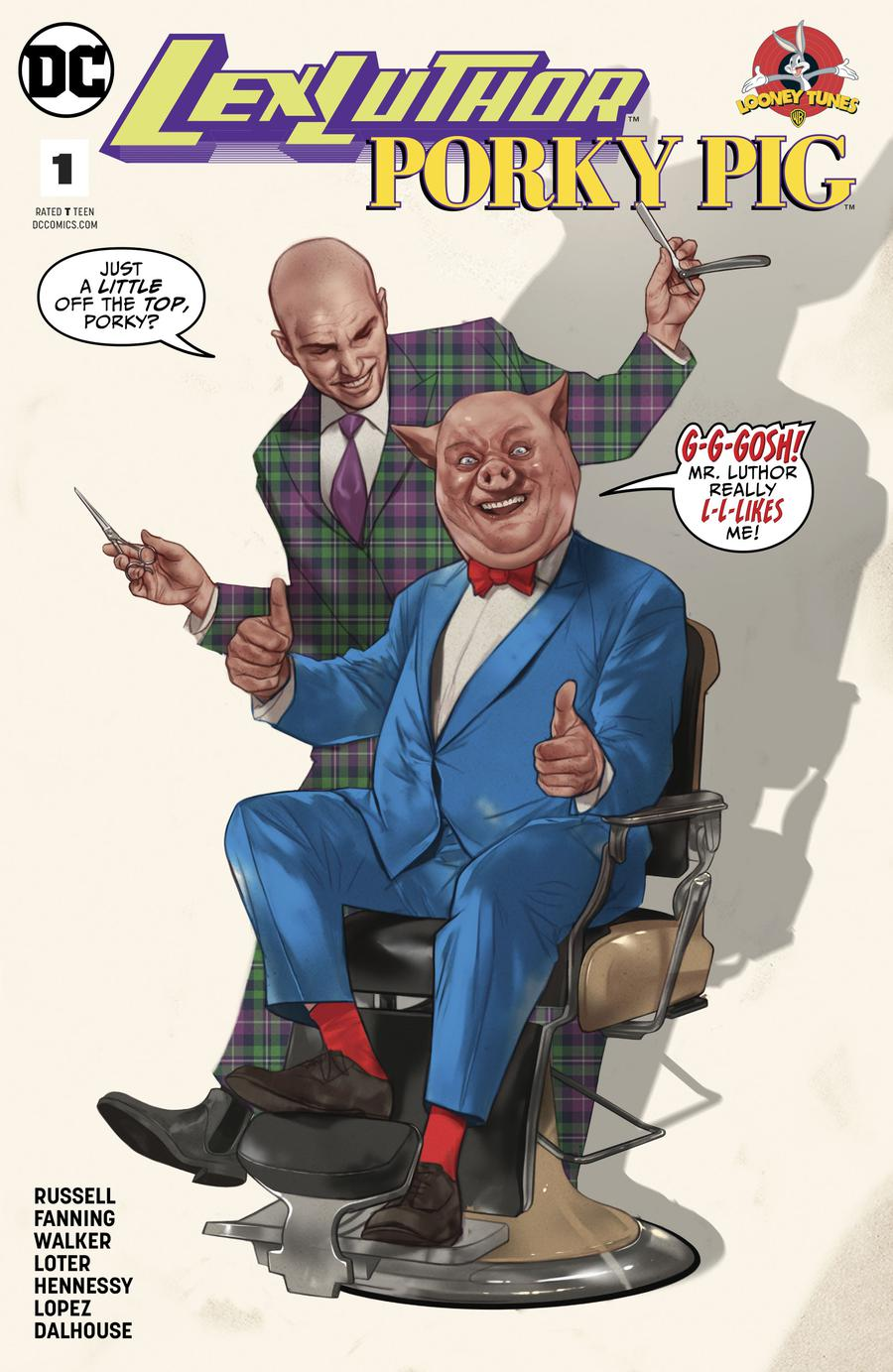 Lex Luthor Porky Pig Special #1 Cover A Regular Ben Oliver Cover