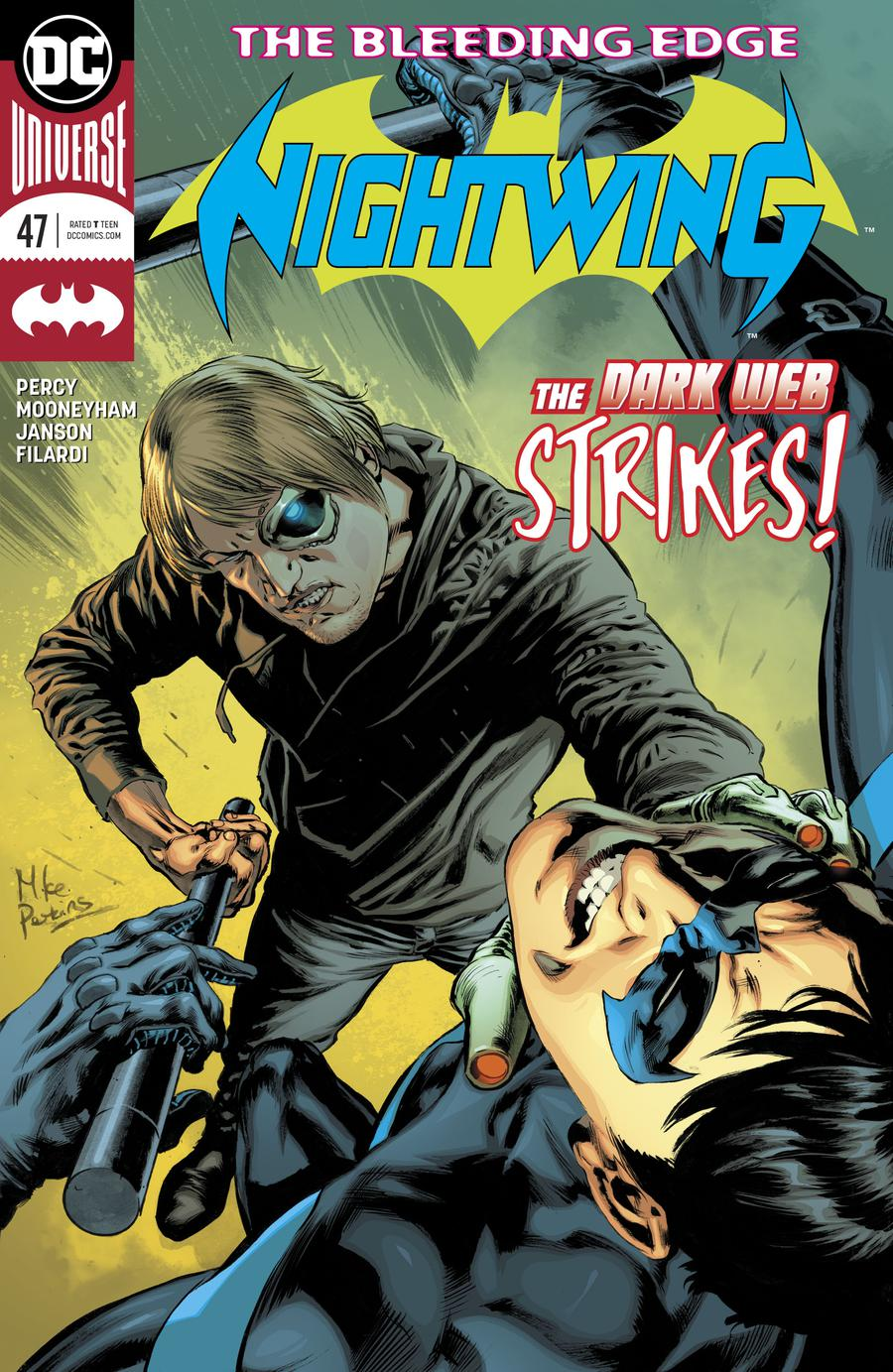 Nightwing Vol 4 #47 Cover A Regular Mike Perkins Cover