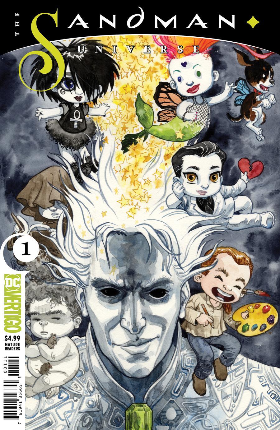 Sandman Universe #1 Cover G Variant Jill Thompson Cover