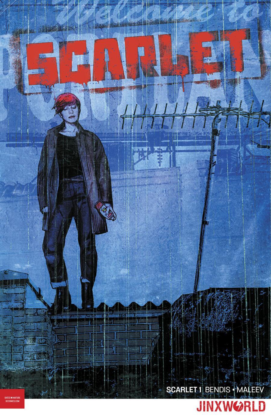Scarlet Vol 2 #1 Cover B Variant Michael Gaydos Cover