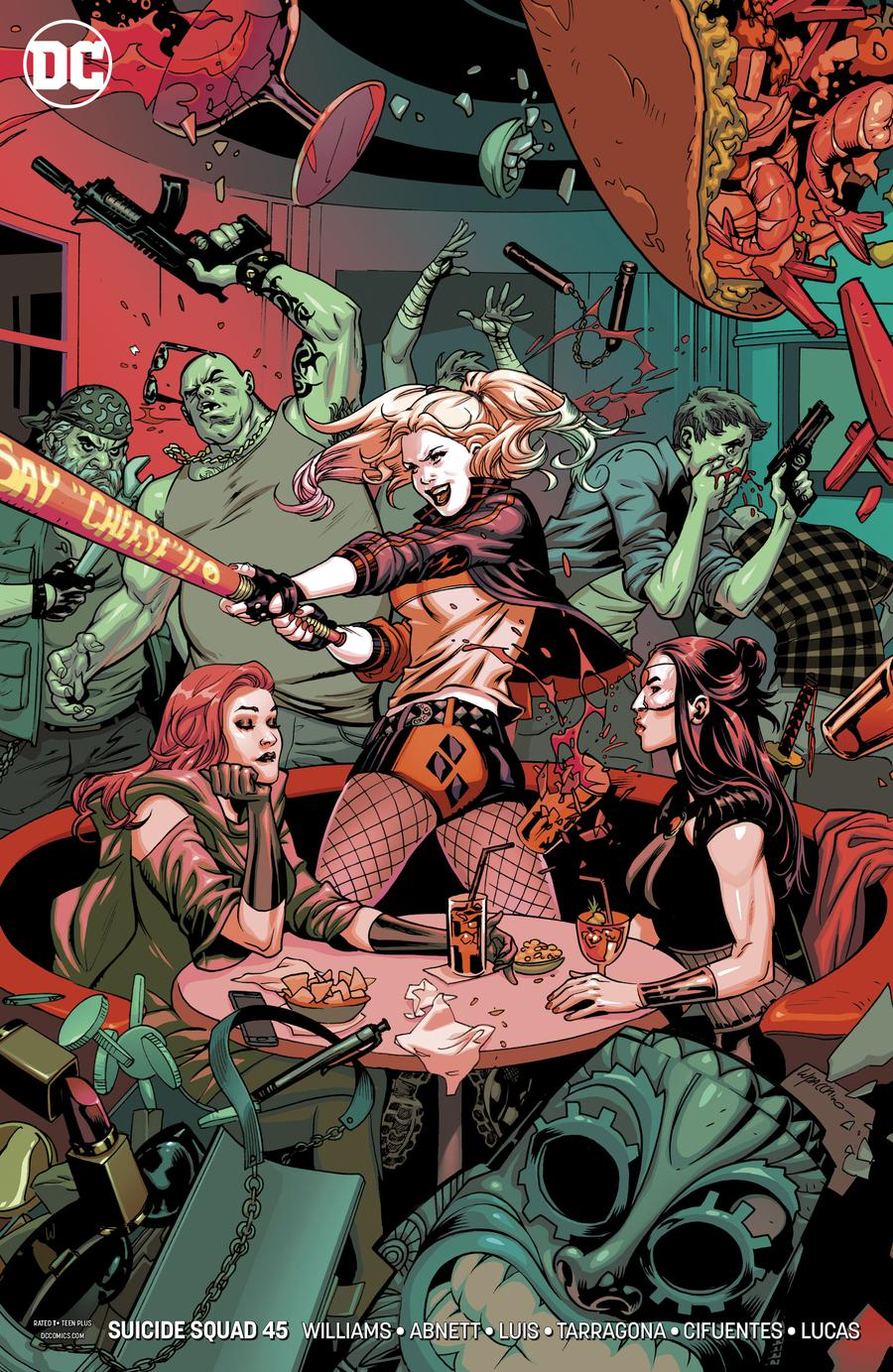 Suicide Squad Vol 4 #45 Cover B Variant Emanuela Lupacchino Cover (Sink Atlantis Part 1)