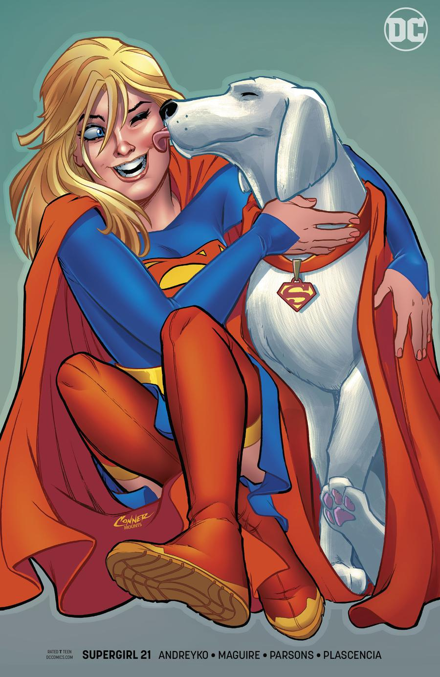 Supergirl Vol 7 #21 Cover B Variant Amanda Conner Cover
