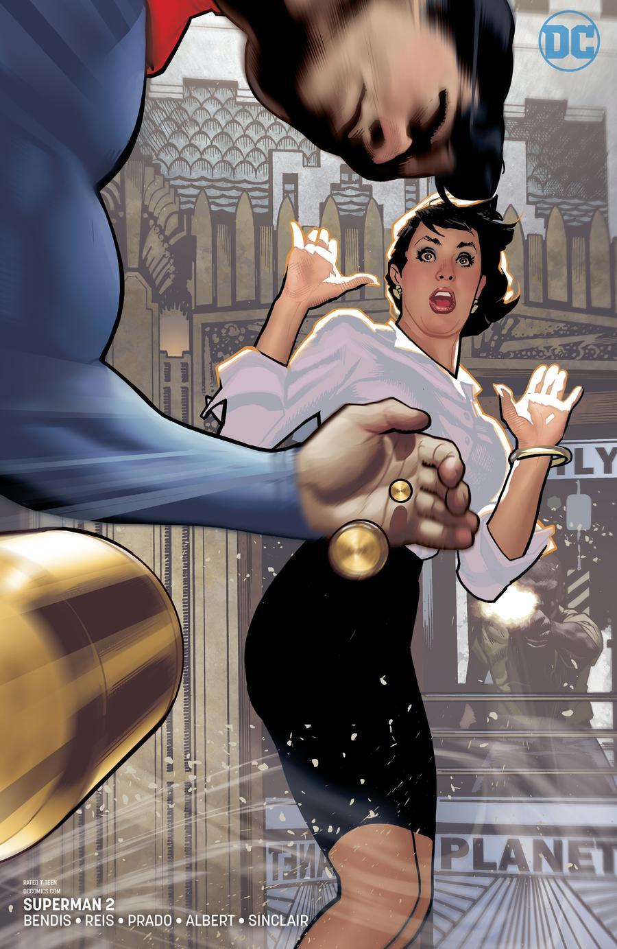 Superman Vol 6 #2 Cover B Variant Adam Hughes Cover