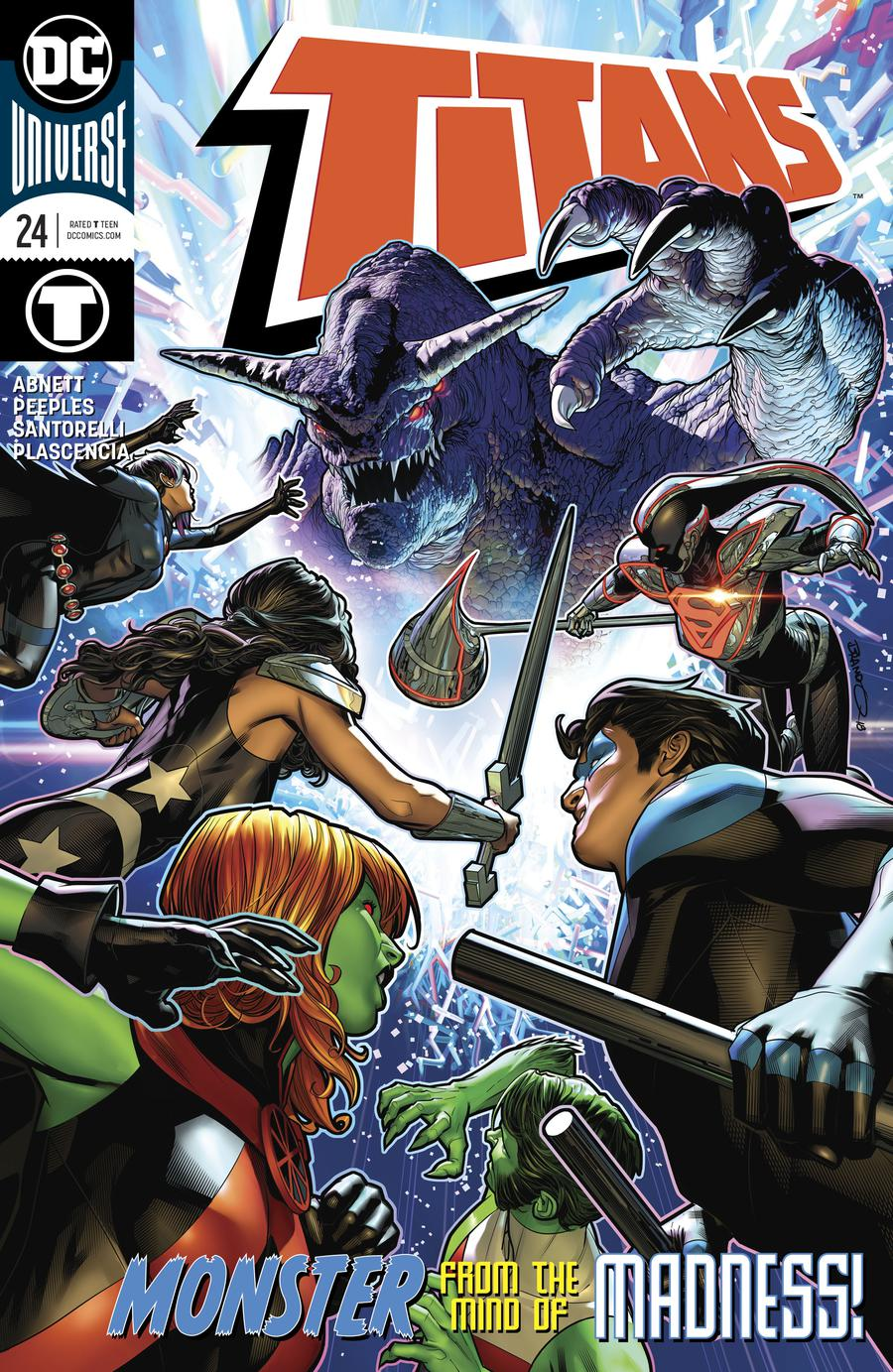 Titans Vol 3 #24 Cover A Regular Brandon Peterson Cover