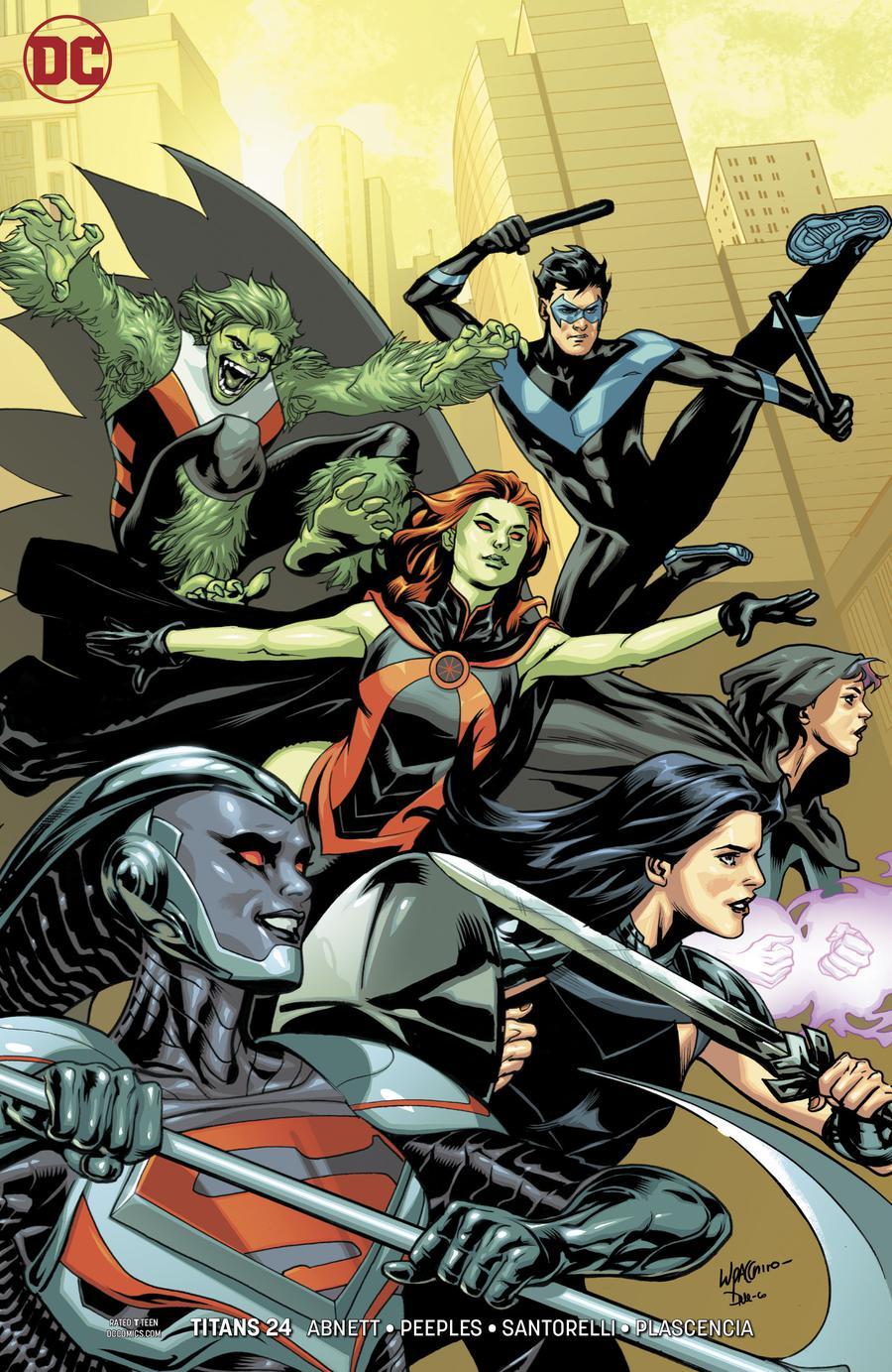 Titans Vol 3 #24 Cover B Variant Emanuela Lupacchino Cover