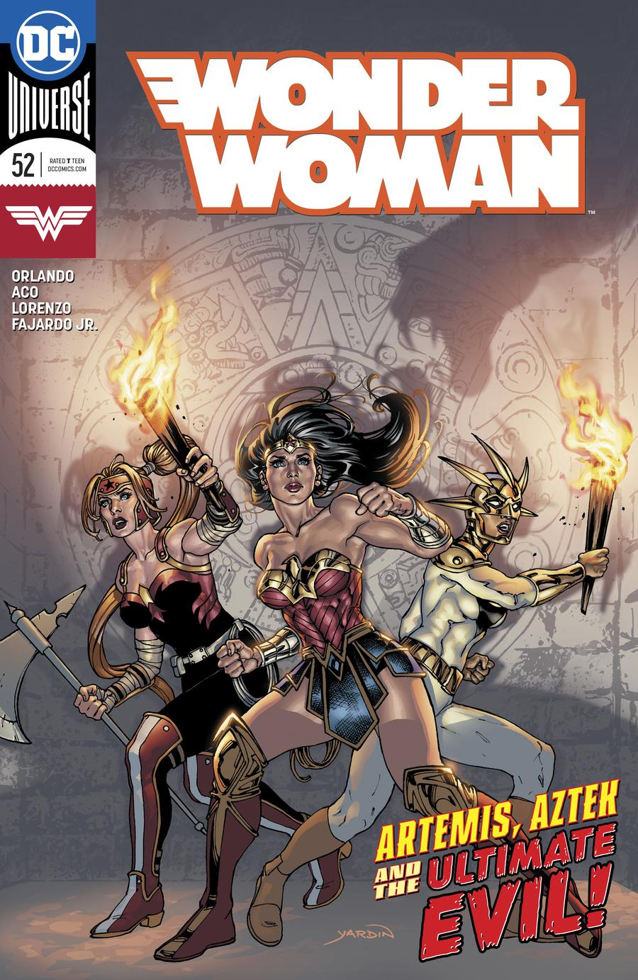 Wonder Woman Vol 5 #52 Cover A Regular David Yardin Cover