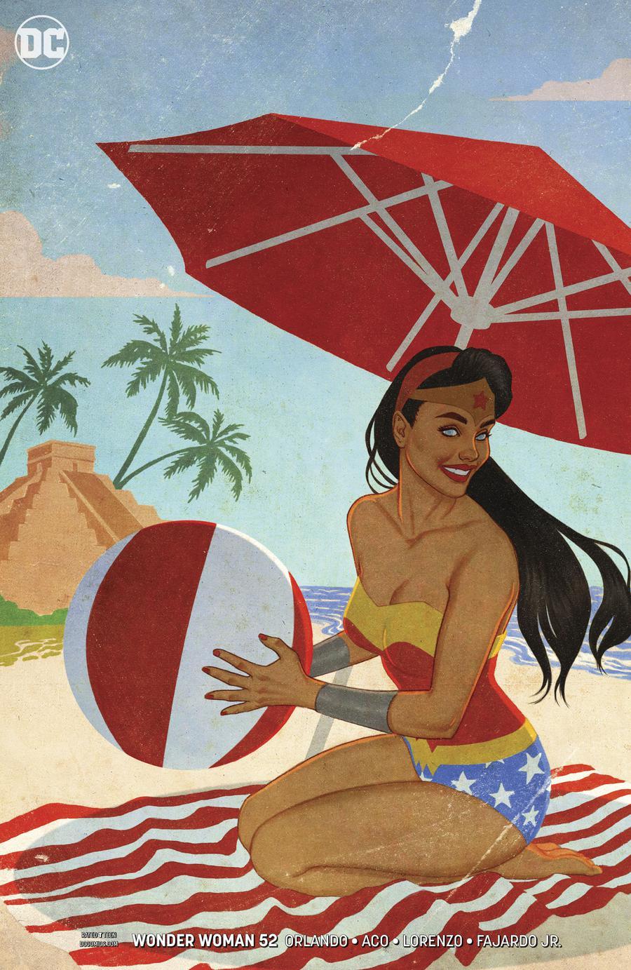 Wonder Woman Vol 5 #52 Cover B Variant Jenny Frison Cover