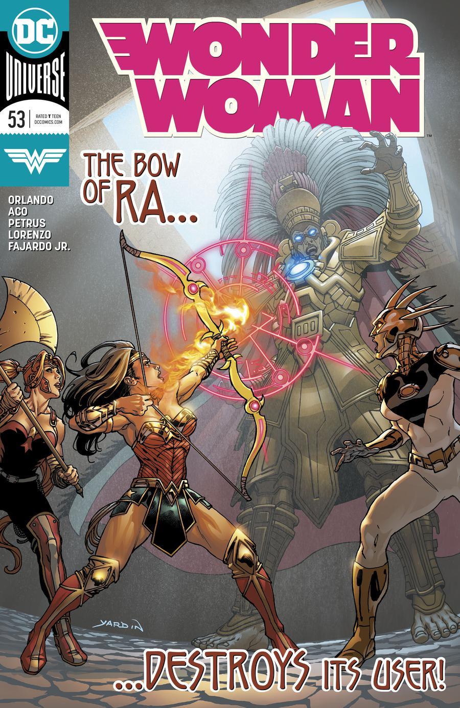 Wonder Woman Vol 5 #53 Cover A Regular David Yardin Cover