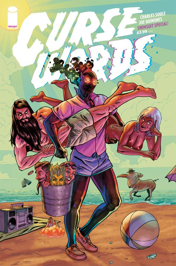 Curse Words Summer Swimsuit Special One Shot Cover B Variant Joe Quinones Cover