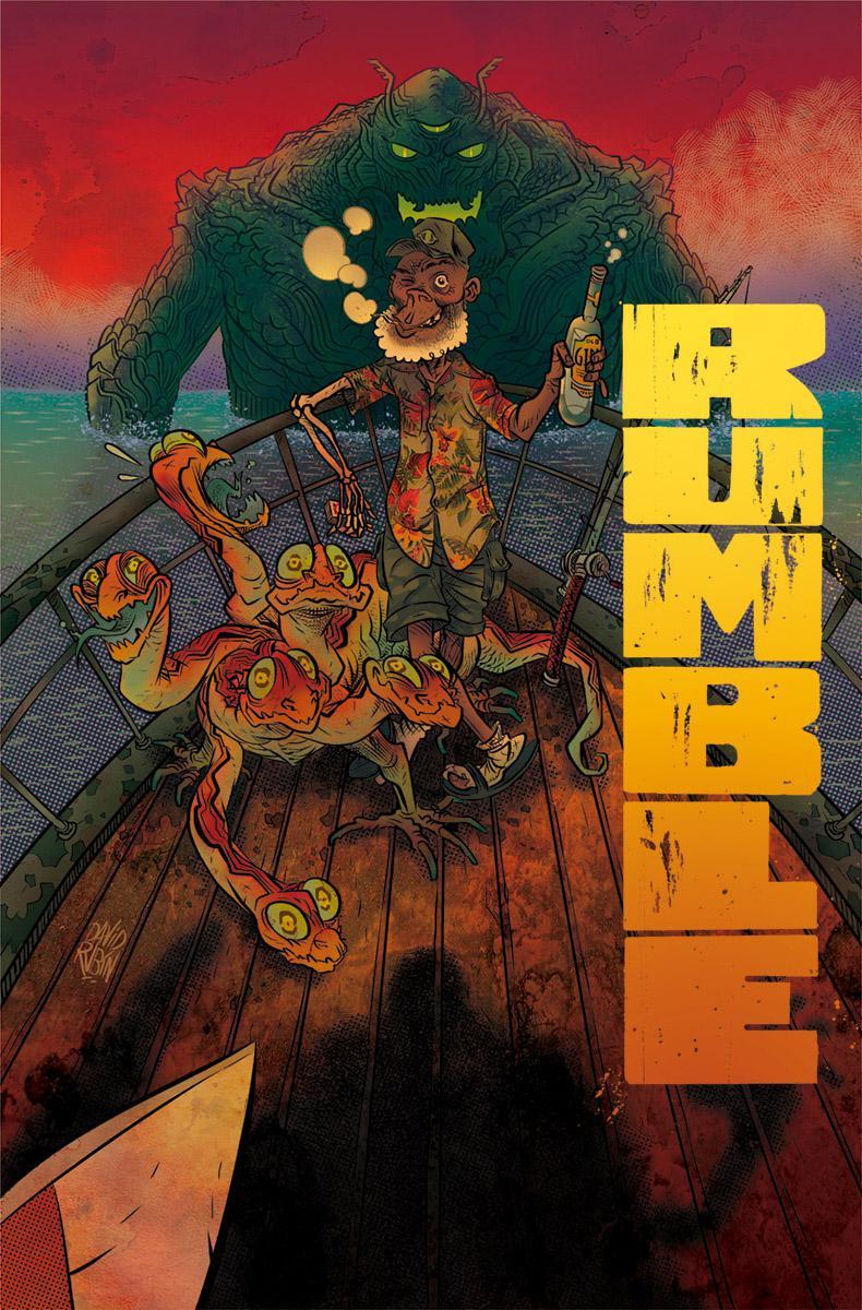 Rumble Vol 2 #6 Cover A Regular David Rubin Cover