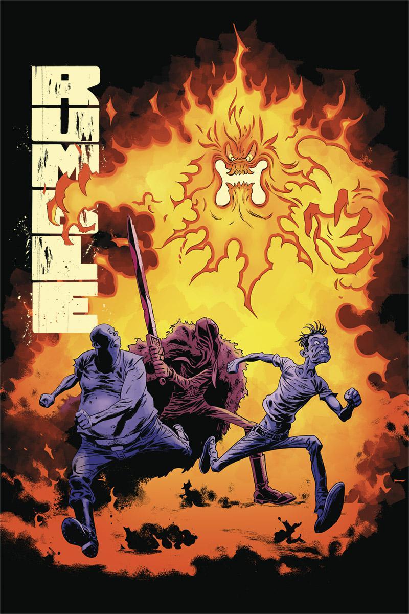 Rumble Vol 2 #6 Cover B Variant Peter Snejbjerg Cover