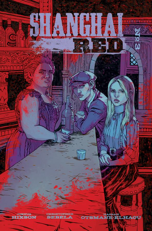 Shanghai Red #3 Cover B Variant Tess Fowler Cover