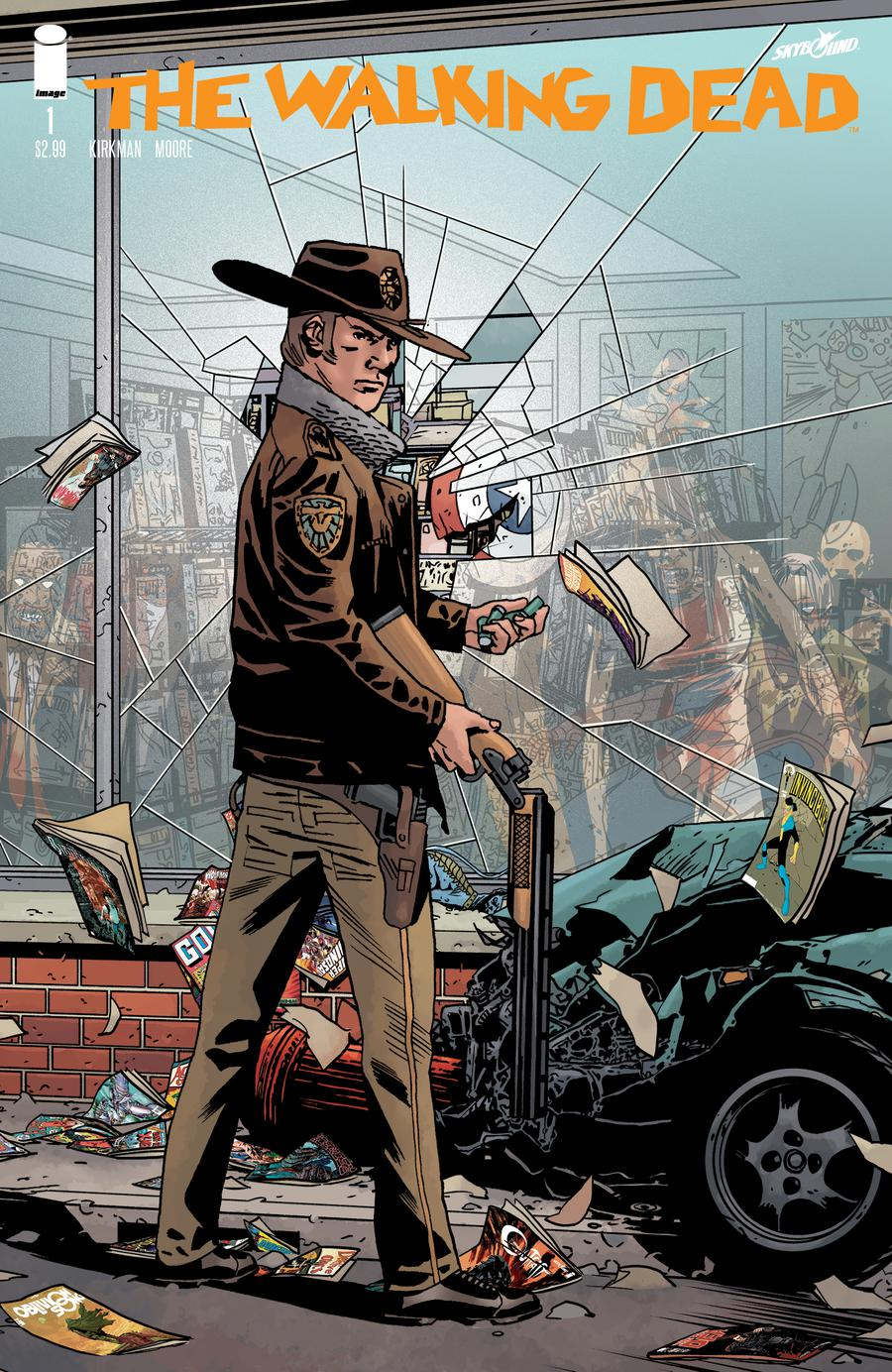 Walking Dead 15th Anniversary Edition #1 Regular Cover