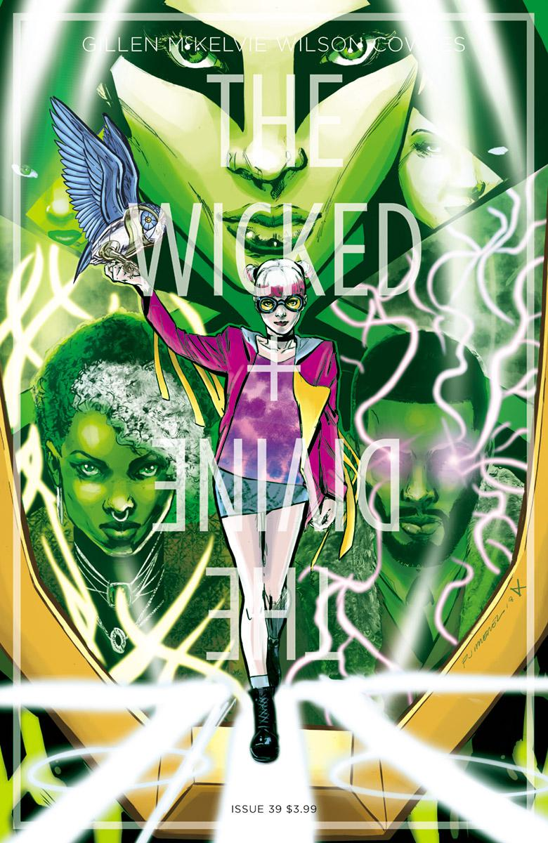 Wicked + The Divine #39 Cover B Variant Phil Jimenez & Dee Cunniffe Cover