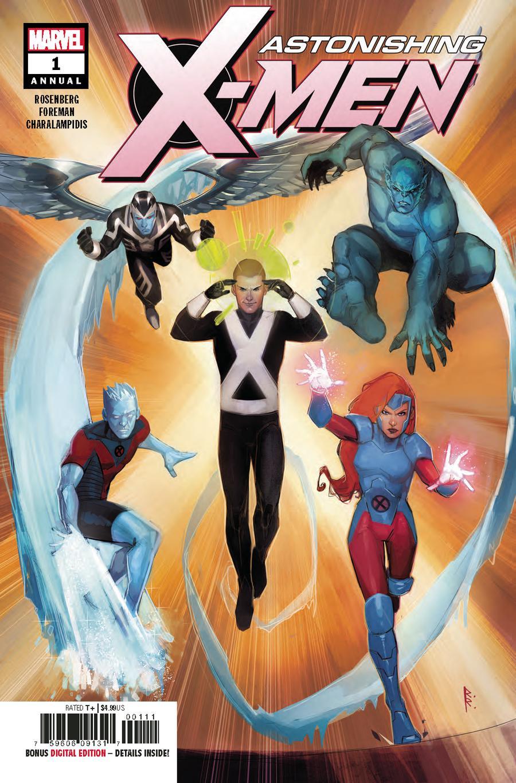Astonishing X-Men Vol 4 Annual #1 Cover A Regular Rod Reis Cover