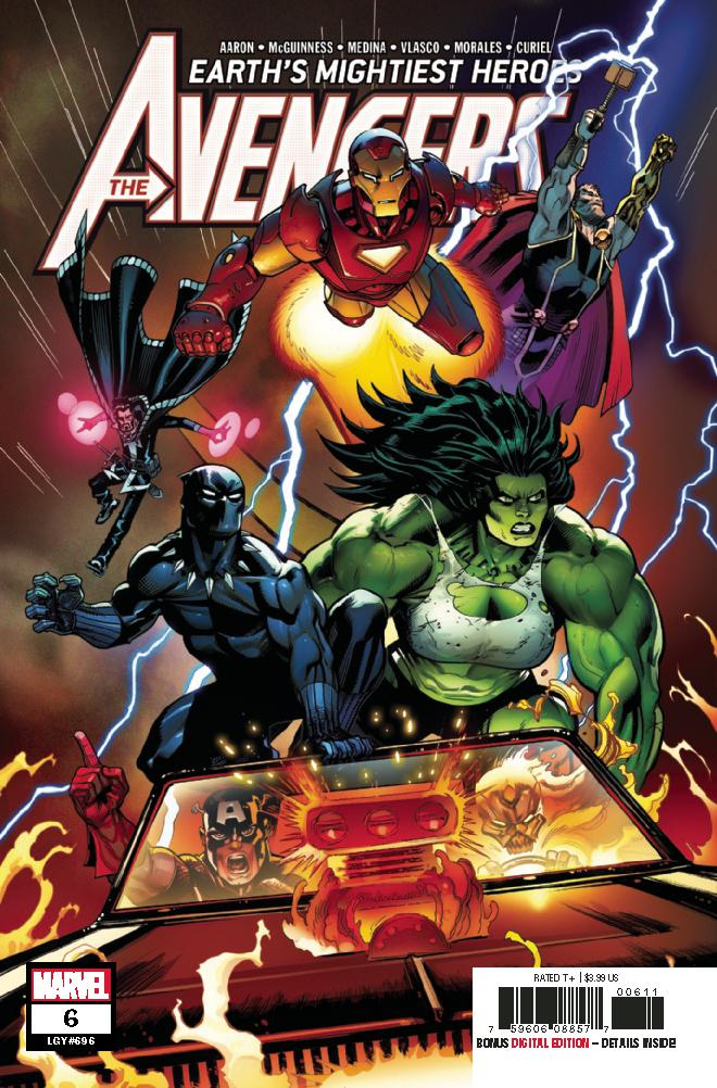 Avengers Vol 7 #6 Cover A 1st Ptg Regular Ed McGuinness Cover