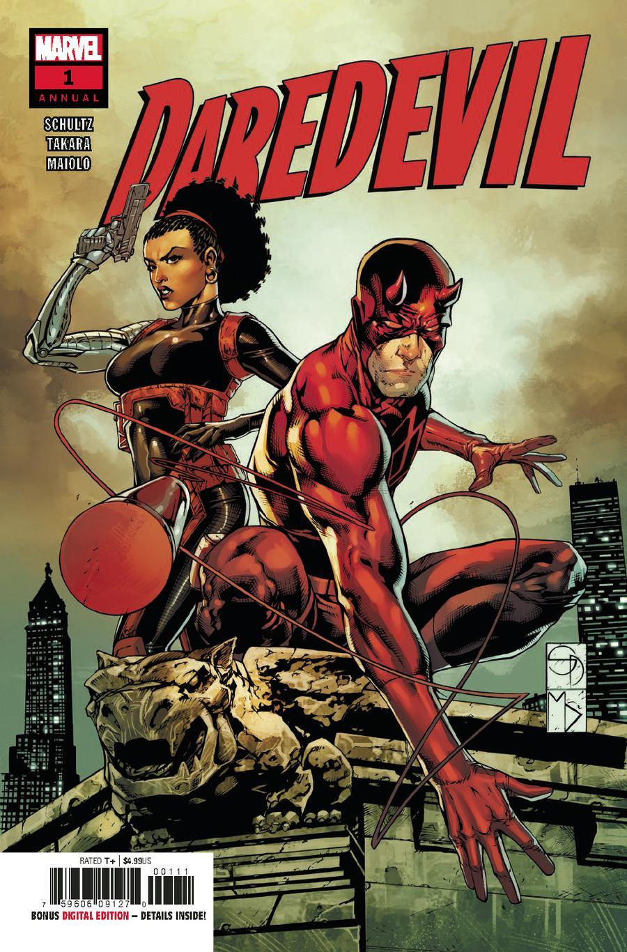 Daredevil Vol 5 Annual #1 2018 Cover A Regular Shane Davis Cover