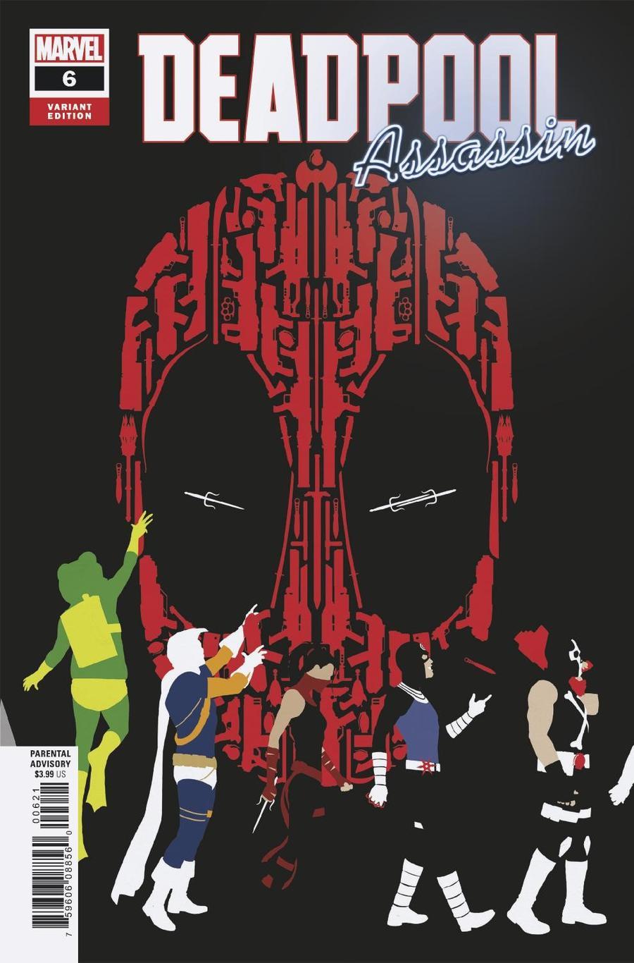 Deadpool Assassin #6 Cover B Variant John Tyler Christopher Cover