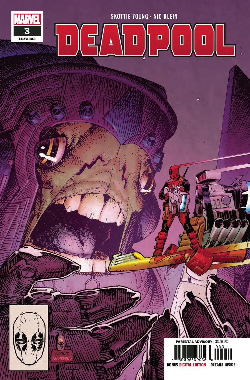 Deadpool Vol 6 #3 Cover A Regular Nic Klein Cover
