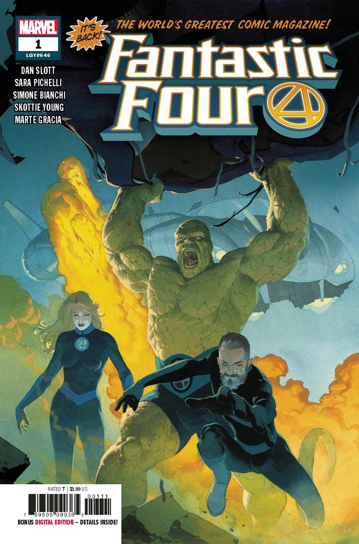Fantastic Four Vol 6 #1 Cover A 1st Ptg Regular Esad Ribic Cover