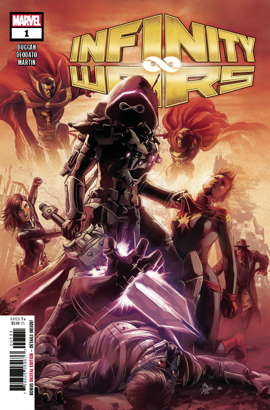 Infinity Wars #1 Cover A 1st Ptg Regular Mike Deodato Jr Cover