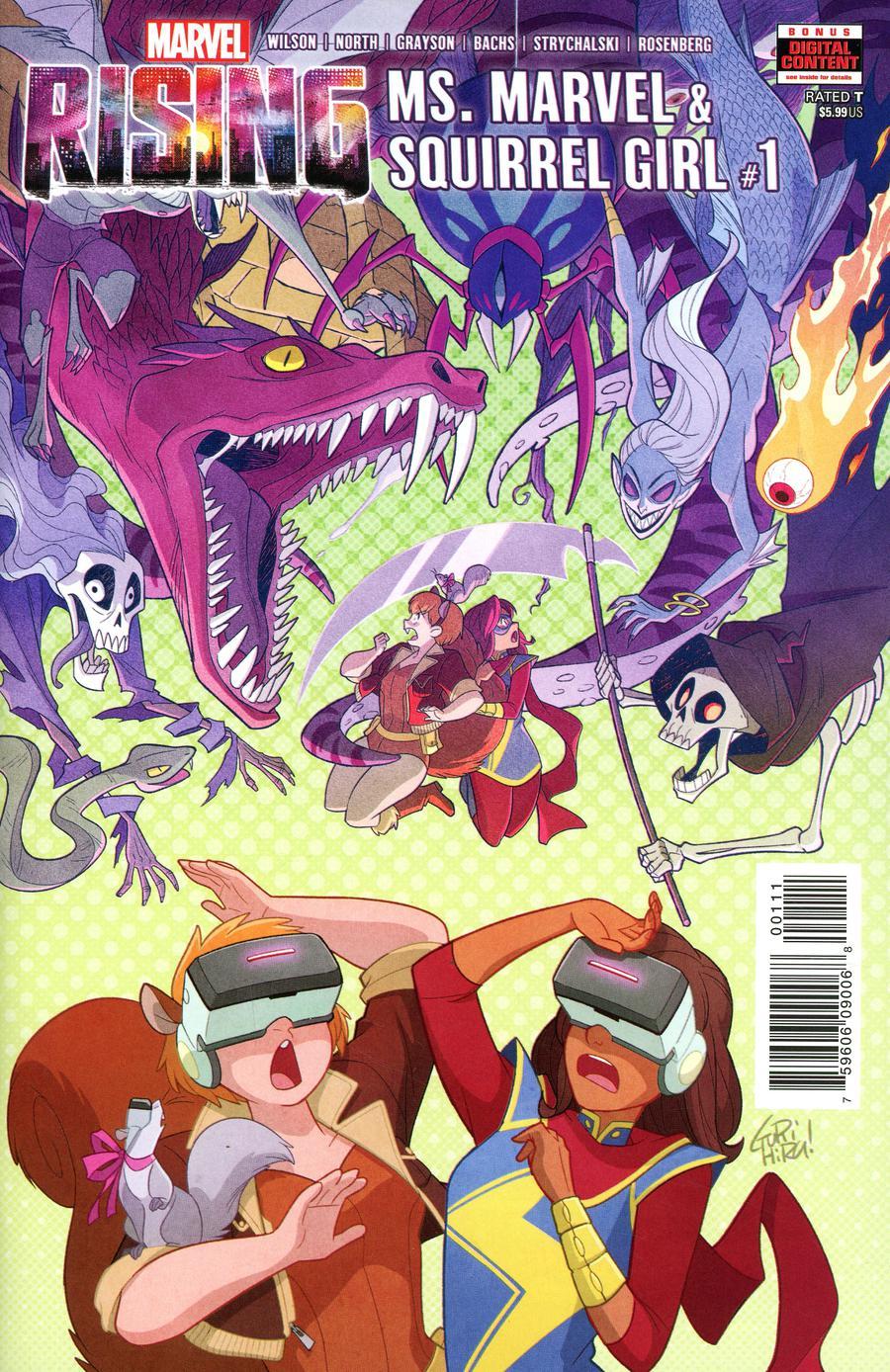 Marvel Rising Ms Marvel Squirrel Girl #1 Cover A Regular Gurihiru Cover
