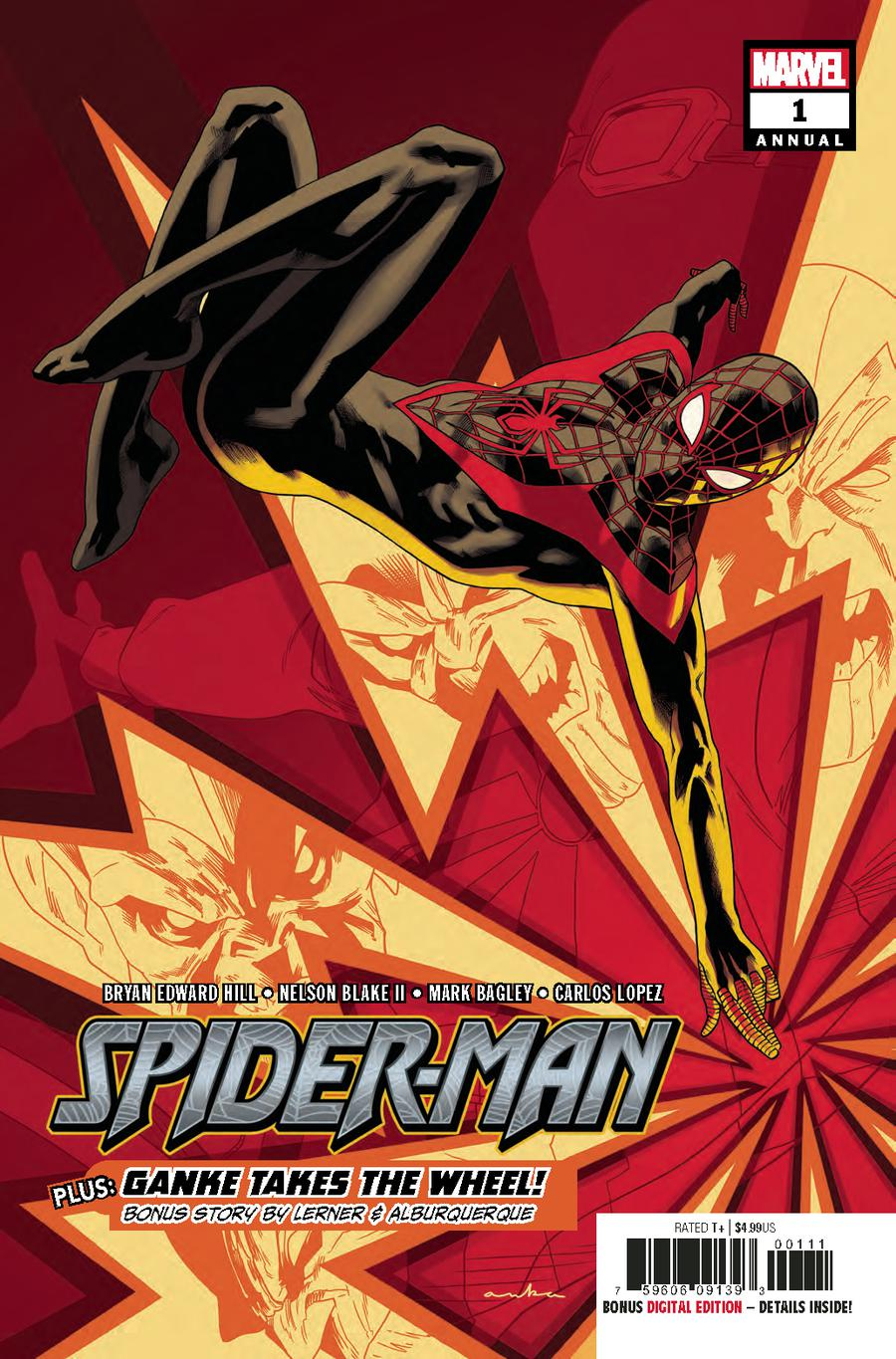 Spider-Man Annual #1 Cover A Regular Kris Anka Cover