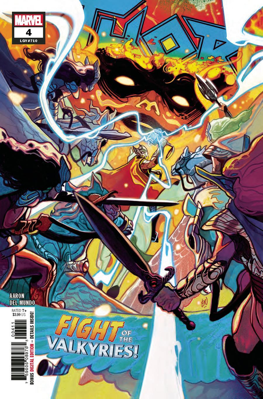 Thor Vol 5 #4 Cover A Regular Mike Del Mundo Cover