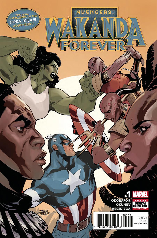 Wakanda Forever Avengers #1 Cover A Regular Terry Dodson Cover