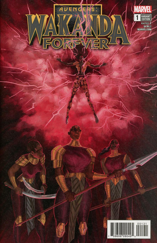Wakanda Forever Avengers #1 Cover C Variant Vanesa R Del Rey Cover