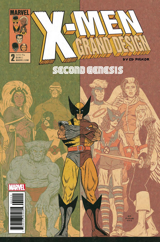 X-Men Grand Design Second Genesis #2 Cover A Regular Ed Piskor Cover