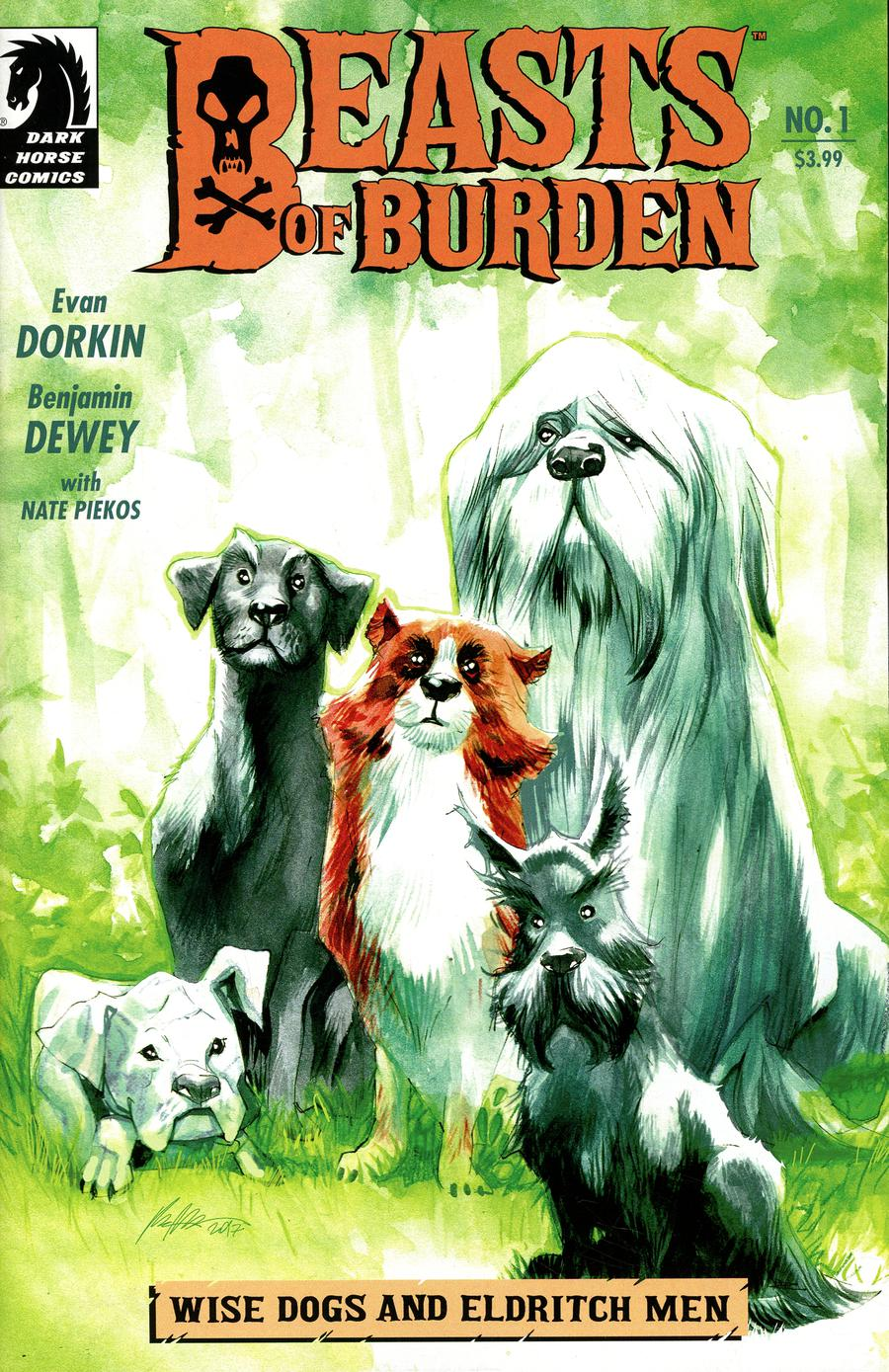 Beasts Of Burden Wise Dogs And Eldritch Men #1 Cover B Variant Rafael Albuquerque Cover