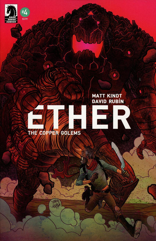 Ether Copper Golems #4 Cover A Regular David Rubin Cover