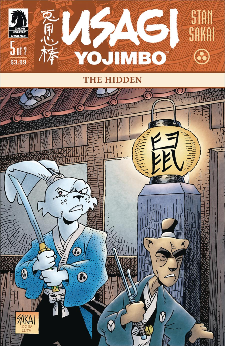 Usagi Yojimbo The Hidden #5