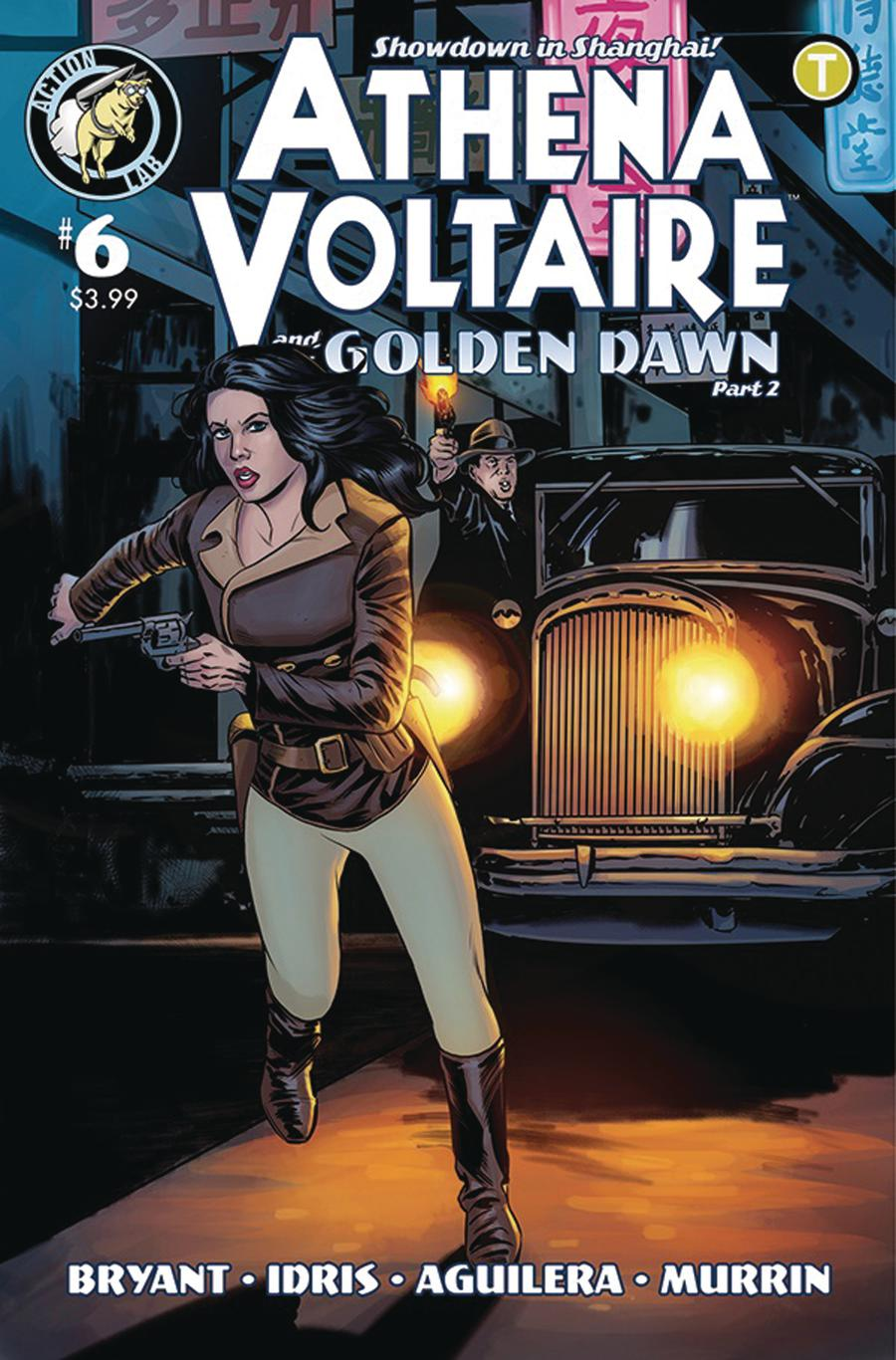 Athena Voltaire #6 Cover A Regular Steve Bryant Cover