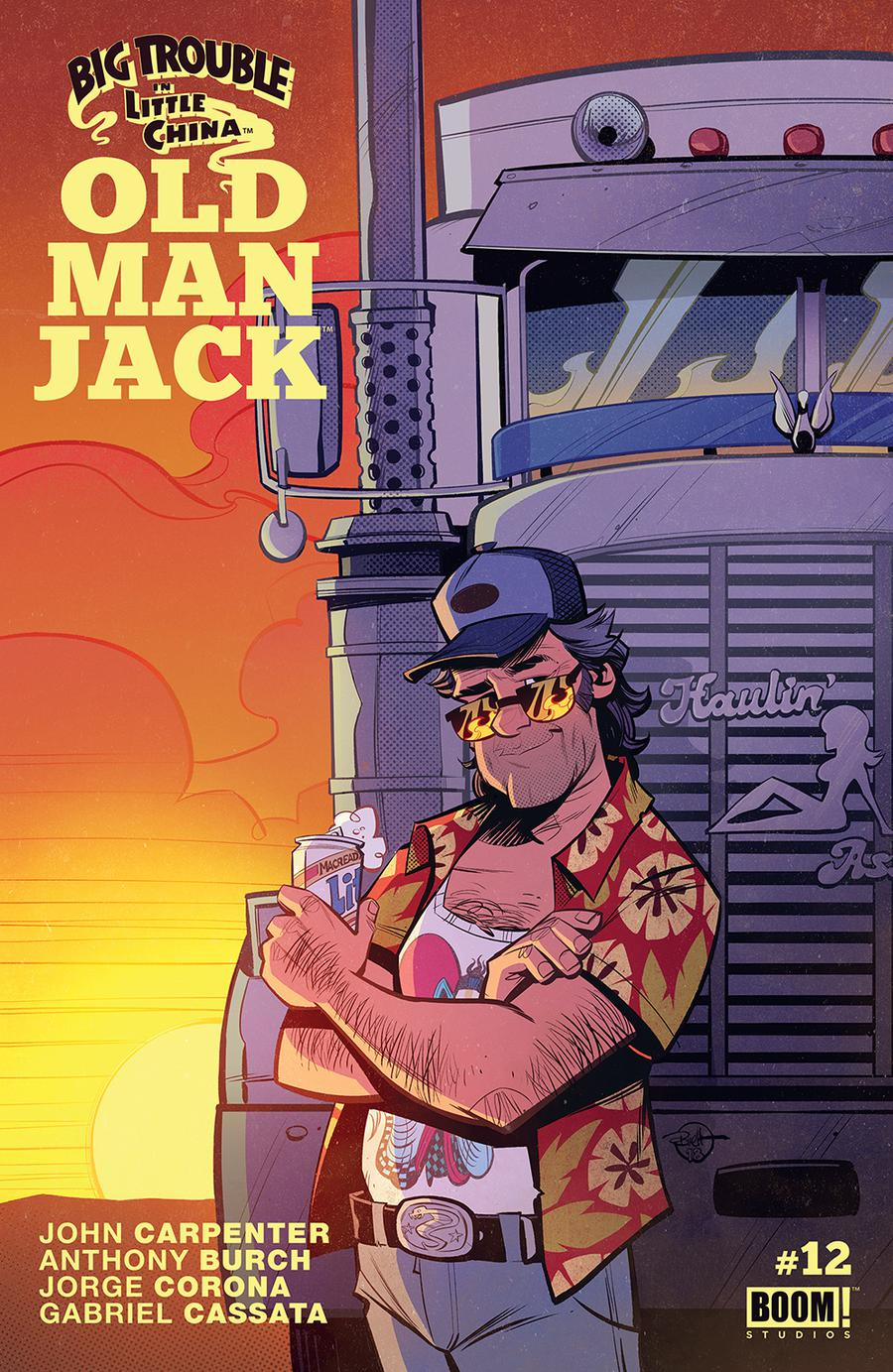 Big Trouble In Little China Old Man Jack #12 Cover A Regular Brett Parson Cover