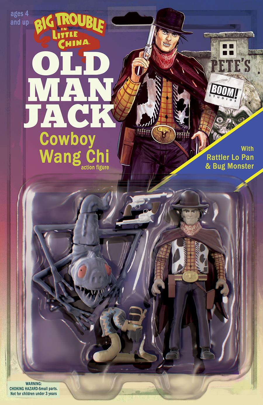 Big Trouble In Little China Old Man Jack #12 Cover B Variant Michael Adams & Marco DAlfonso Subscription Cover