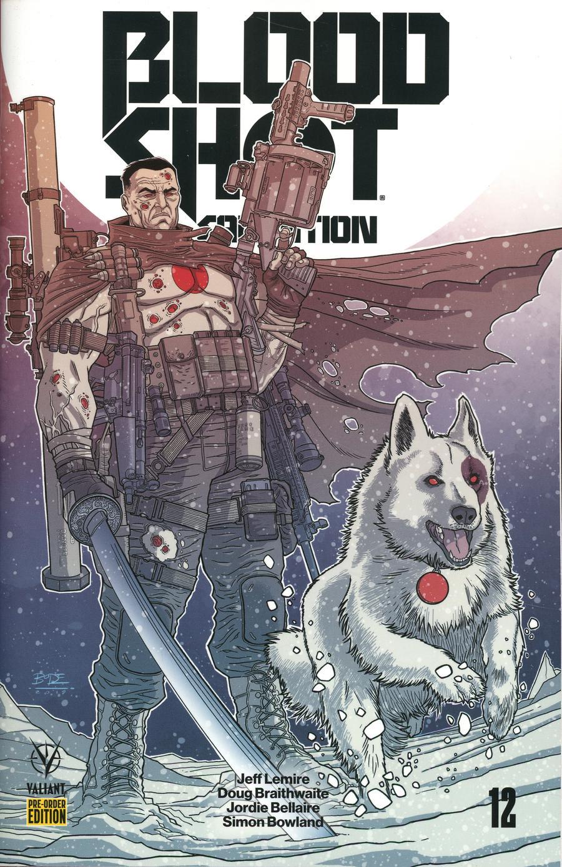 Bloodshot Salvation #12 Cover C Variant Ryan Bodenheim Cover