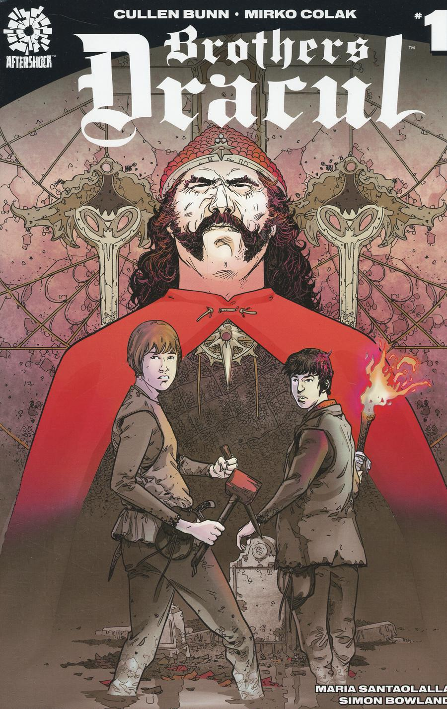 Brothers Dracul #1 Cover C 2nd Ptg