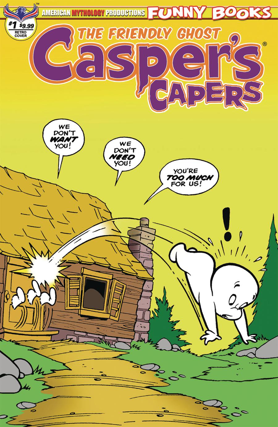 Caspers Capers #1 Cover B Variant Warren Kremer Vintage Limited Edition Cover