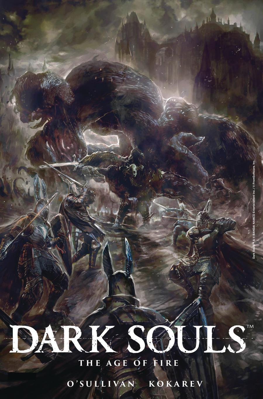 Dark Souls Age Of Fire #4 Cover A Regular Pablo Fernandez-Angulo Cover