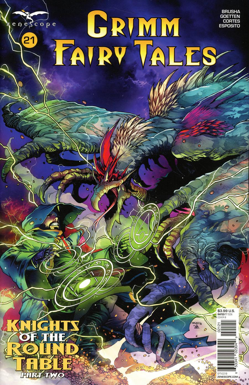 Grimm Fairy Tales Vol 2 #21 Cover B Bong Dazo