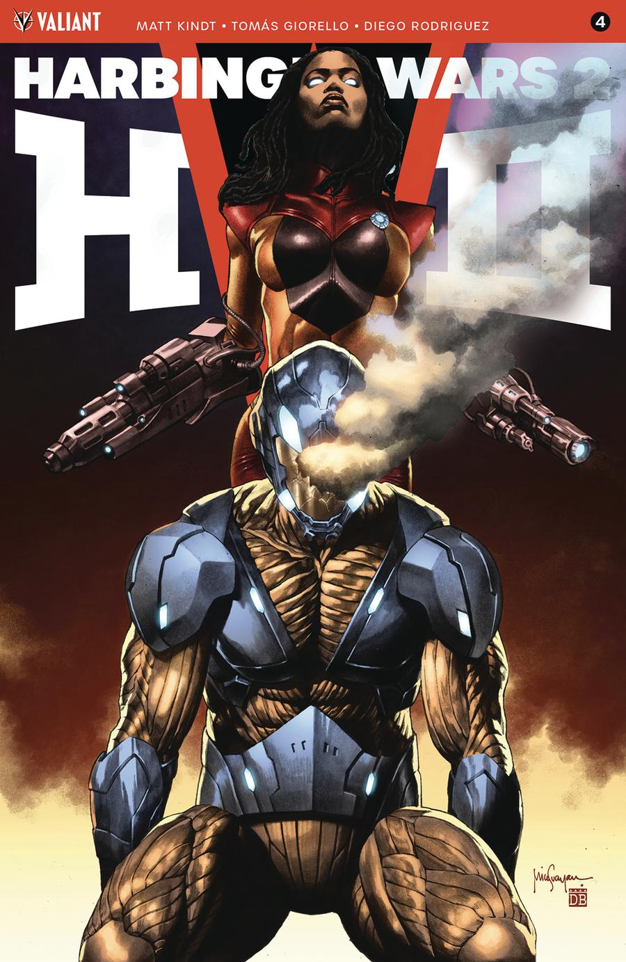Harbinger Wars 2 #4 Cover B Variant Mico Suayan Cover