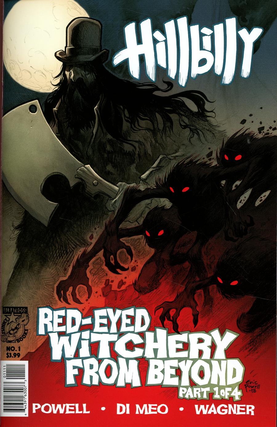 Hillbilly Red-Eyed Witchery From Beyond #1