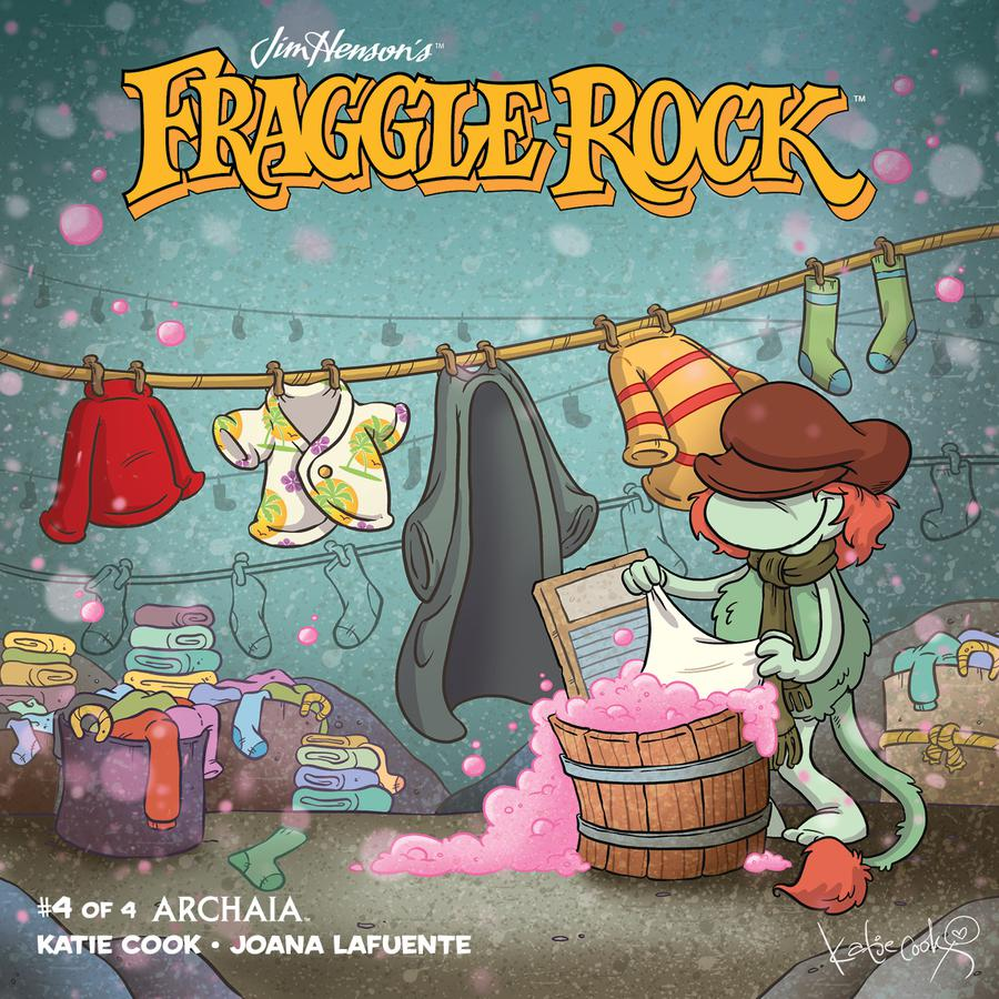 Jim Hensons Fraggle Rock #4 Cover A Regular Katie Cook Cover
