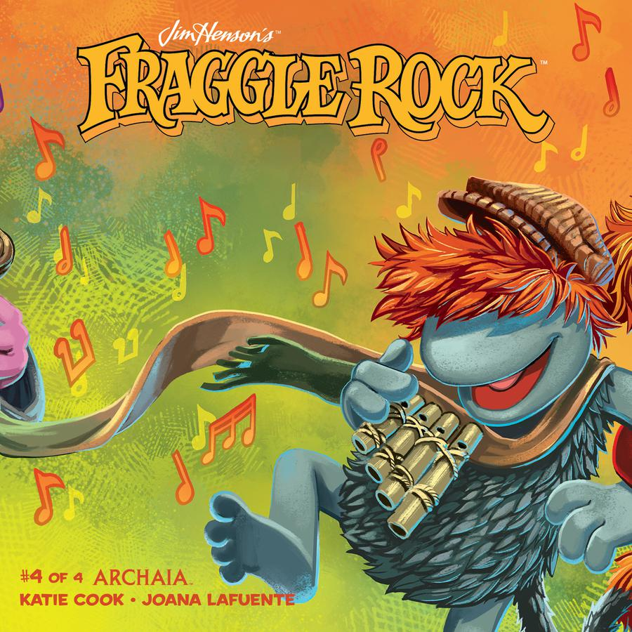 Jim Hensons Fraggle Rock #4 Cover B Variant Jake Myler Subscription Cover