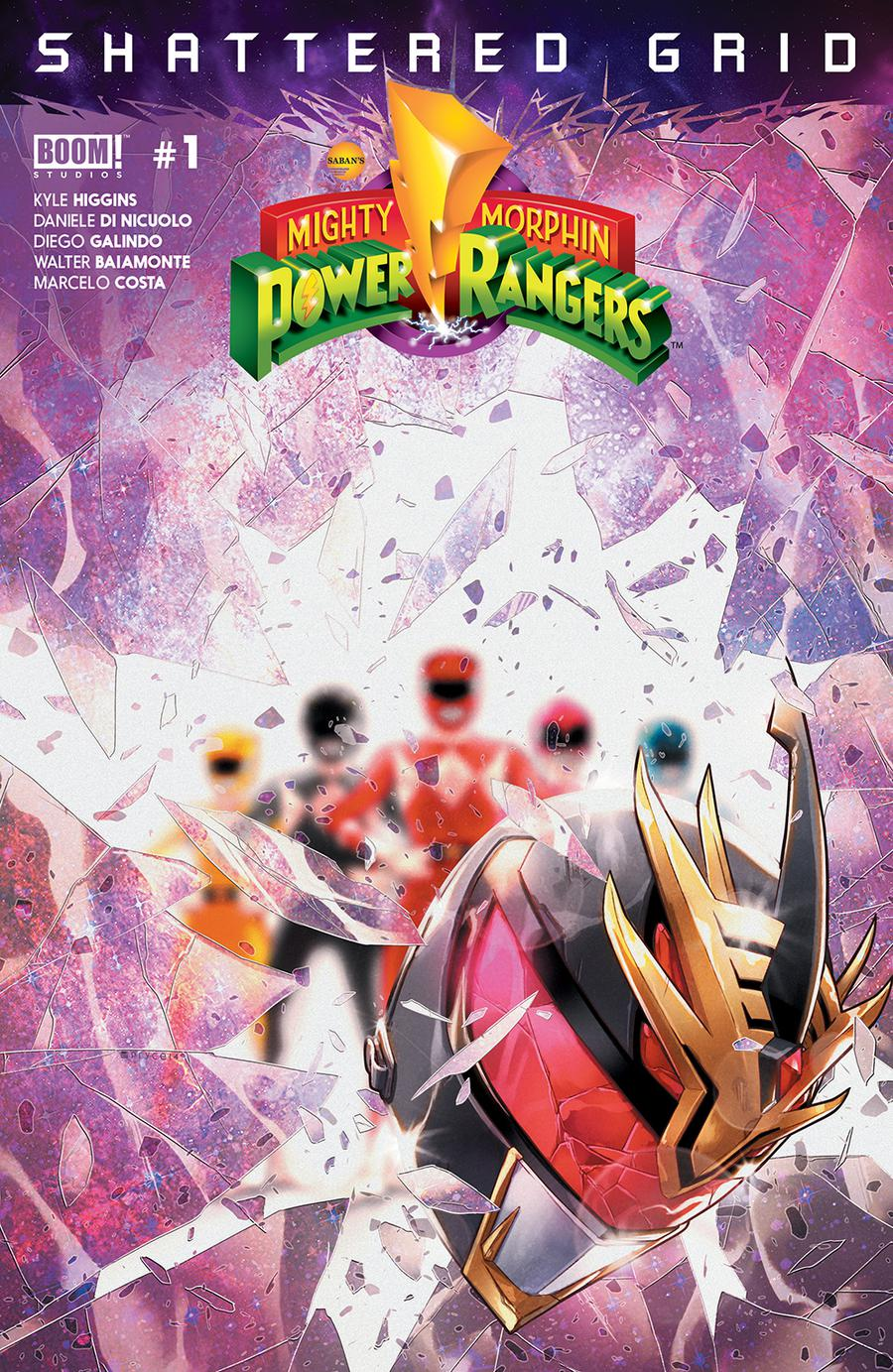 Mighty Morphin Power Rangers Shattered Grid #1 Cover A Regular Jamal Campbell Cover (Shattered Grid Tie-In)