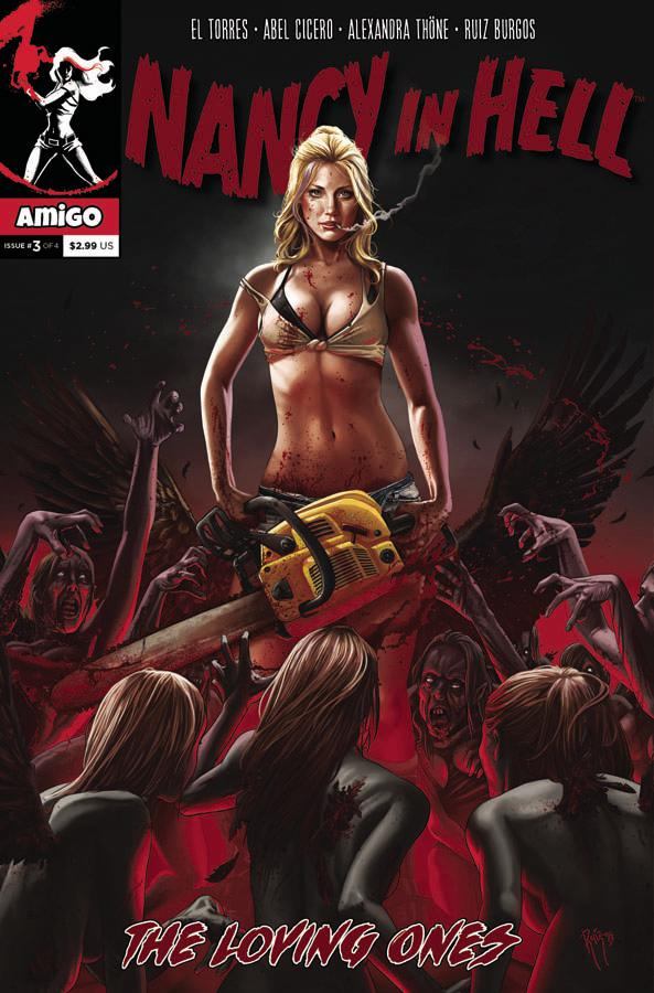 Nancy In Hell Vol 2 #3 Cover A Regular Ruiz Burgos Cover